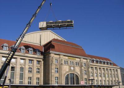 Hauptbahnhof Promenaden in Leipzig